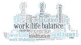 work life balance and wellbeing - 153240136