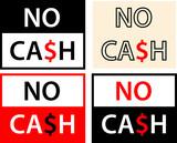 No Cash Label