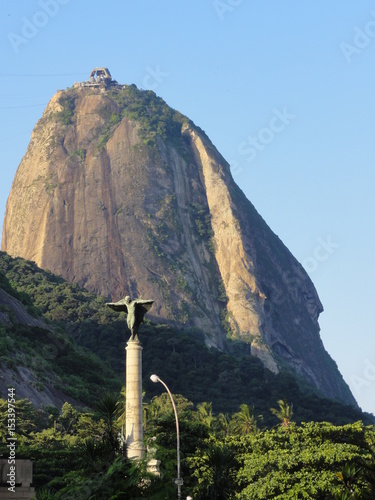 Poster Sugarloaf mountain and view, Rio , Brazil