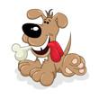 Dog With A Bone - 153407312
