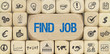 Find Job / Würfel mit Symbole