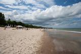 Plaża we Władysławowie latem