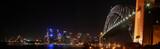 Sydney Harbour Night Panorama (High Resolution)
