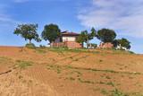 Casa di campagna sulla collina.
