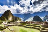 Machu Picchu- Peinture - 153504779