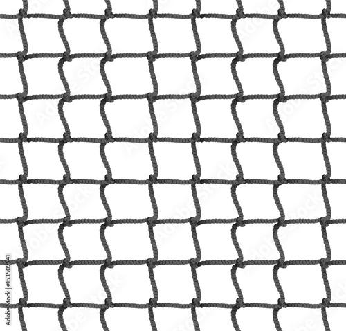 Fototapeta Tennis Net Seamless Pattern Background. Vector Illustration. Rope Net Silhouette. Soccer, Football, Volleyball, Tennis Net Pattern.
