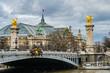 Paris Bridge And River