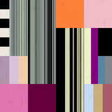 abstract geometric background pattern, with stripes and squares, grungy
