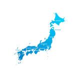 Japan Cities Map - 153519503