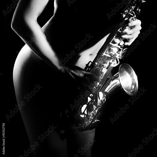 Poster Play that sax