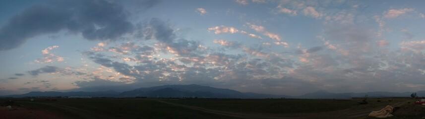 Panoramik gökyüzü