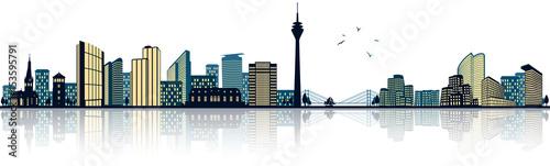 Düsseldorf Skyline - 153595791