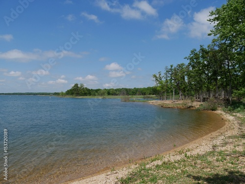 Lake Arbuckle, Oklahoma Scenic view of one side of the Lake of the Arbuckles, one ideal destination in Oklahoma