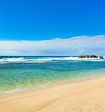 Beautiful Gris-Gris beach.