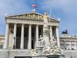 austria, vienna, parliament - 153789532