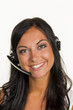 woman with headset - 153794500
