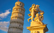 Pisa Italy, The Leaning Tower of Pisa - 153820750