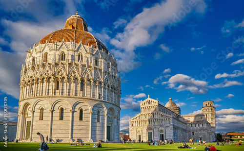 Pisa Italy, The Leaning Tower of Pisa