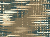 Abstract grunge vector background. Color composition of irregular overlapping graphic elements. - 153840347