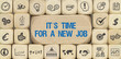It´s Time for a new Job / Würfel mit Symbole