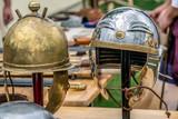 Roman fighting helmets - 153859133