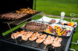 BBQ Grill Meat and Seafood - 153864545