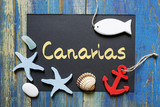 summer postcard from Canarias, Spain