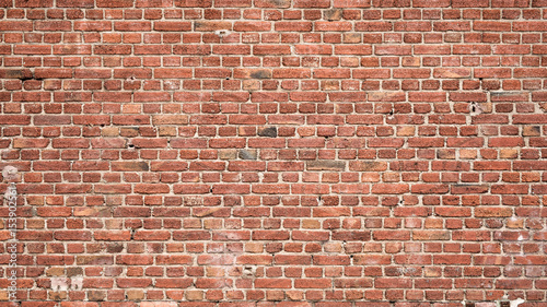 Brick Wall Background - 153902561
