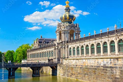 Foto op Aluminium Oude gebouw Dresden, Deutschland