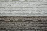 white and grey brick background