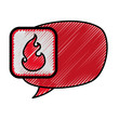 Comic bubble symbol icon vector illustration graphic design - 153953327