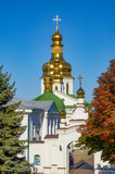 Church of famous Kiev Pechersk Lavra Monastery, Ukraine.