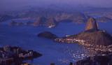 Brasilien: Panorama von RIo de Janeiro mit dem Zuckerhut