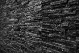 black slate stone texture background
