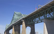 View of Jacques Cartier Bridge in Montreal, Canada