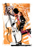 Double bass player - 154131539