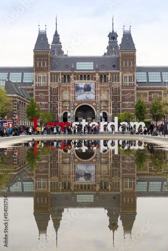 Foto op Aluminium Amsterdam Amsterdam