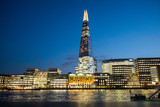 Skyline of City of London with the Shard - 154143393