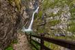Savica waterfall,Triglav National Park, Slovenia - 154166526