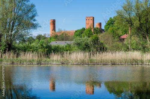Zamek w Czersku Poster