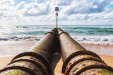 Storm-water Pipe Manly, Sydney, Australia