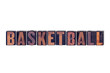 Basketball Concept Isolated Letterpress Word