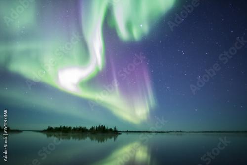 Fotobehang Noorderlicht Aurora explosion