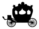 Carriage Wall Sticker