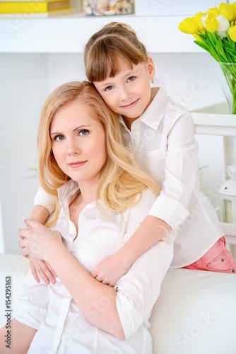 embracing dear mother © Andrey Kiselev