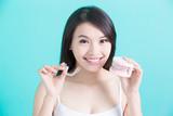 Fototapety healthy dental concept
