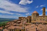 Volterra mit Aussicht in das Val di Cecina