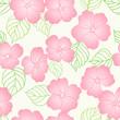 Seamless spring floral pattern - 154323508
