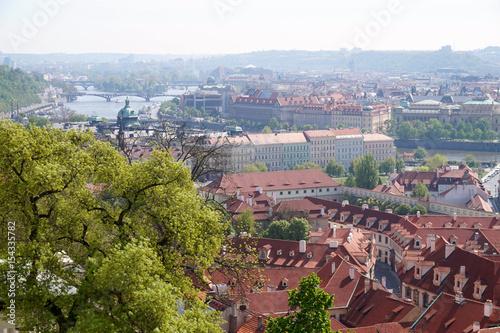 Poster Prague - cityscape