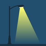 Streetlight lamp post - 154378947